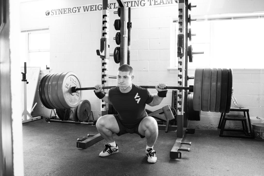 back squat 3